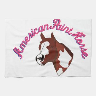 アメリカのペンキの馬 台所タオル