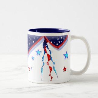 アメリカのマグ ツートーンマグカップ