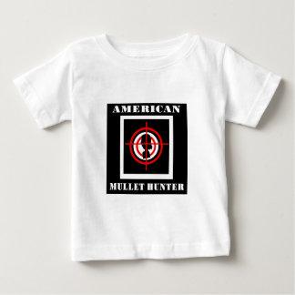 アメリカのマレットのハンター ベビーTシャツ