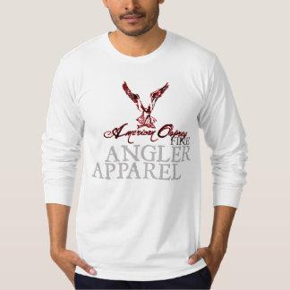 アメリカのミサゴの長袖 Tシャツ