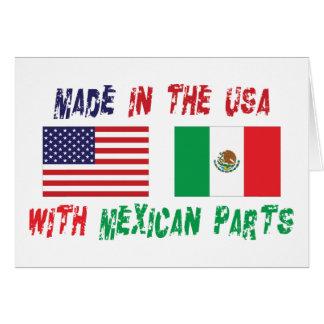 アメリカのメキシコ系アメリカ人 カード