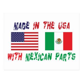 アメリカのメキシコ系アメリカ人 ポストカード