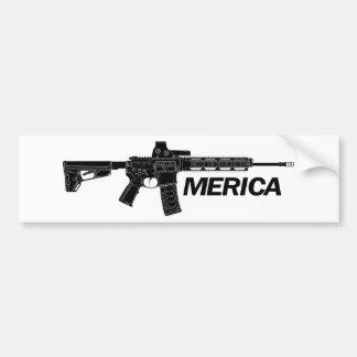 アメリカのライフル バンパーステッカー
