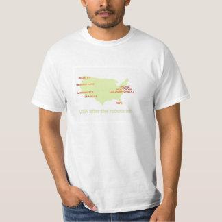 アメリカのロボティック州 Tシャツ
