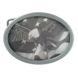 アメリカのワシのベルトの留め金 卵形バックル