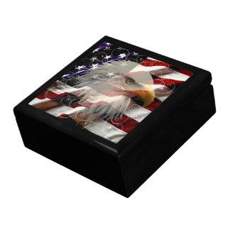 アメリカのワシの旗のギフト用の箱 ギフトボックス