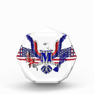 アメリカのワシの記号 表彰盾