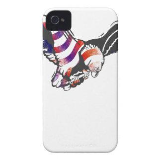 アメリカのワシ米国の国旗の独立メモ Case-Mate iPhone 4 ケース