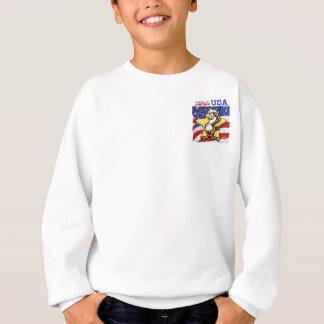 アメリカのワシ スウェットシャツ