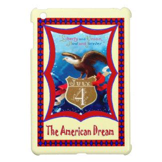 アメリカのワシ、7月4日 iPad MINI CASE