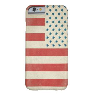 アメリカのヴィンテージの一般市民の旗の箱 iPhone 6 ベアリーゼアケース