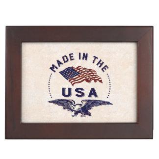 アメリカのヴィンテージ米国で作られる ジュエリーボックス