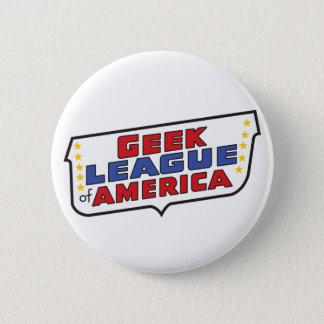 アメリカの円形ボタンのGeeklリーグ 5.7cm 丸型バッジ