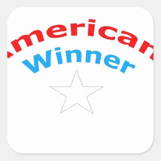 アメリカの勝者 スクエアシール