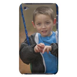 アメリカの印の単語「振動」に署名している男の子 Case-Mate iPod TOUCH ケース