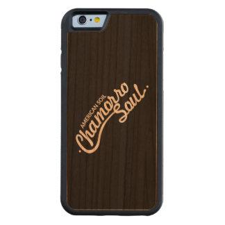 アメリカの土、Chamorroの精神のかえでのiPhoneの場合 CarvedチェリーiPhone 6バンパーケース