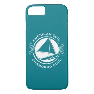 アメリカの土、Chamorroの精神のiPhoneの場合 iPhone 8/7ケース