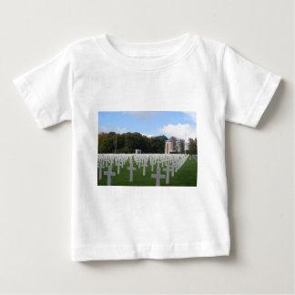 アメリカの墓地ルクセンブルク ベビーTシャツ