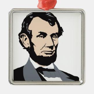 アメリカの大統領: エイブラハム・リンカーン1861-1865年 メタルオーナメント