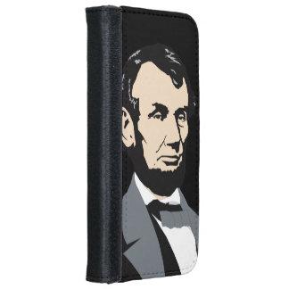 アメリカの大統領: エイブラハム・リンカーン iPhone 6/6S ウォレットケース