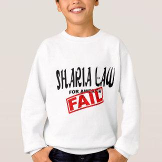 アメリカの失敗のためのShariaの法律 スウェットシャツ