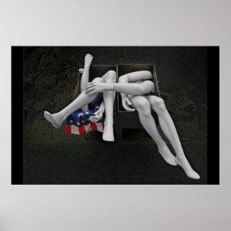 アメリカの女の子 ポスター