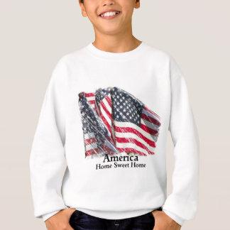 アメリカの家の甘い家 スウェットシャツ