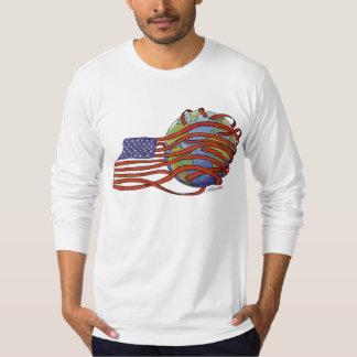 アメリカの帝国主義 Tシャツ