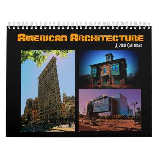 アメリカの建築2010のカレンダー カレンダー