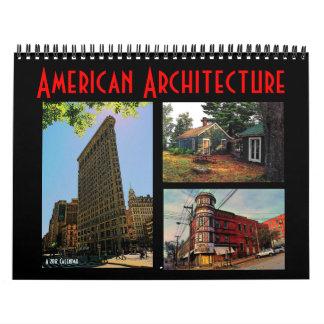 アメリカの建築2012のカレンダー カレンダー