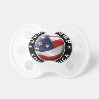 アメリカの役人のロゴのためのダンプの切札 おしゃぶり