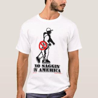 アメリカの役人のTシャツのSaggin無し Tシャツ