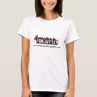 アメリカの忘れられた女性のワイシャツ Tシャツ
