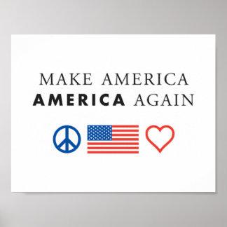 アメリカの愛国心が強いポスター ポスター