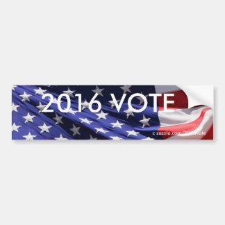 アメリカの愛国心が強い旗2016の投票 バンパーステッカー