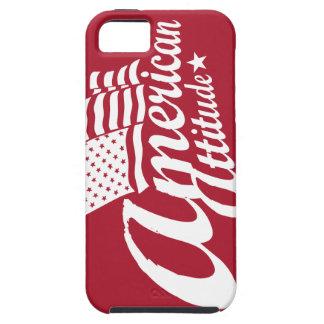 アメリカの態度のiPhoneの場合の赤 iPhone SE/5/5s ケース