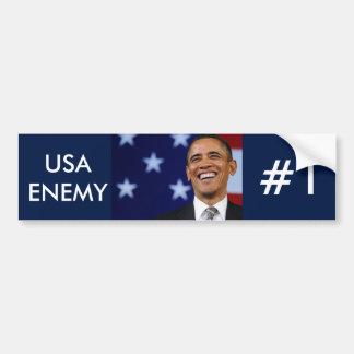 アメリカの敵 バンパーステッカー