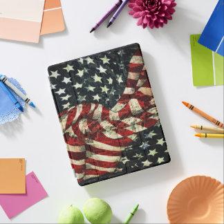 アメリカの旗カムフラージュ iPadスマートカバー