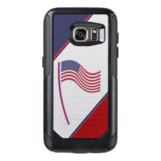 アメリカの旗 オッターボックスSamsung GALAXY S7ケース