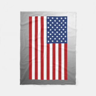 アメリカの旗 フリースブランケット