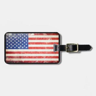 アメリカの旗 ラゲッジタグ