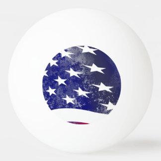 アメリカの旗 卓球ボール