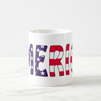 アメリカの星条旗 コーヒーマグカップ