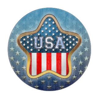 アメリカの星 カッティングボード