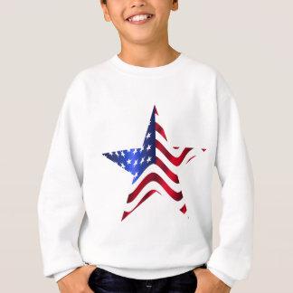 アメリカの星 スウェットシャツ