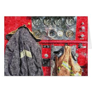 アメリカの普通消防車 カード