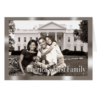 アメリカの最初家族 カード