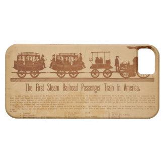 アメリカの最初蒸気の鉄道旅客列車 iPhone 5 ベアリーゼアケース