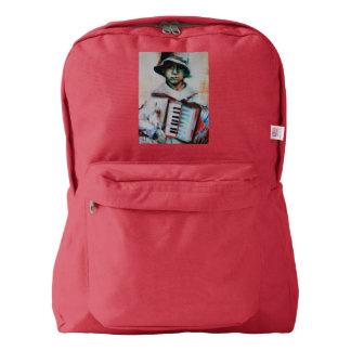 アメリカの服装のバックパックのアコーディオン AMERICAN APPAREL™バックパック