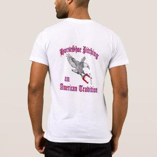 アメリカの服装のポケットTシャツ Tシャツ